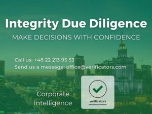 Integrity Due Diligence for business - Verificators