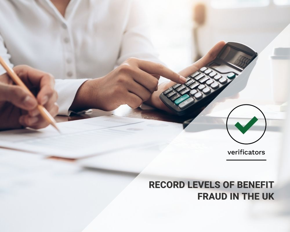 UK - Record levels of benefit fraud